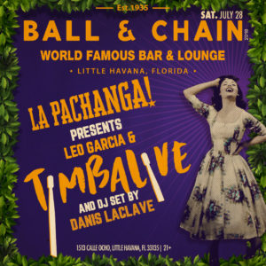 TImbalive at Ball & Chain July 28, 2018