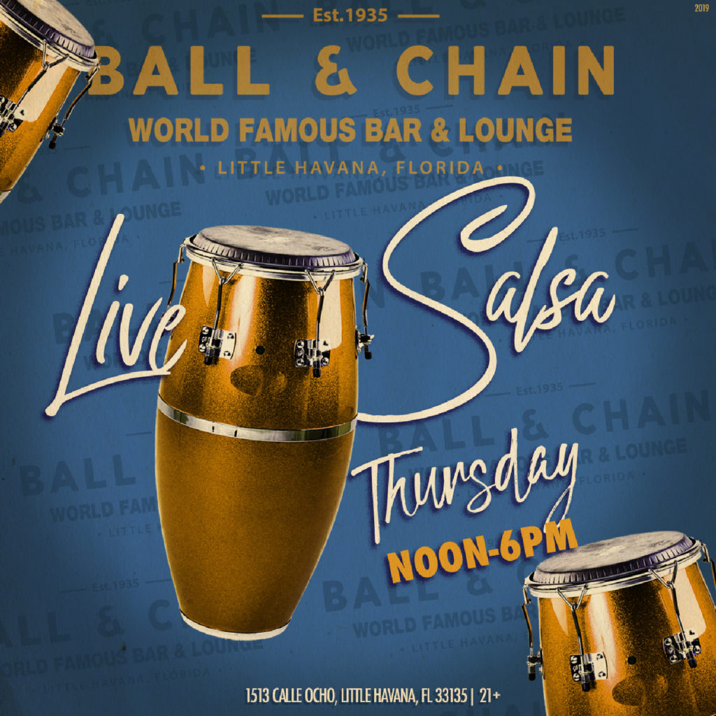 Live Jazz Music Every Monday Evening - Ball & Chain